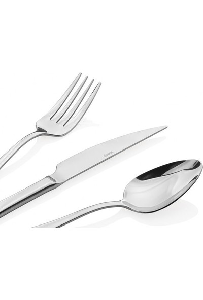 Taç Odion Sebla 36 Parça Çatal Kaşık Bıçak Seti Platin