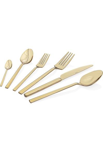Taç Odion Irena 36 Parça Çatal Kaşık Bıçak Seti Gold