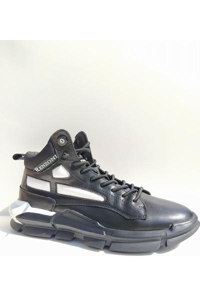 Guja 20K304 Bilek Boy Yüksek Taban Deri Spor Erkek Ayakkabı