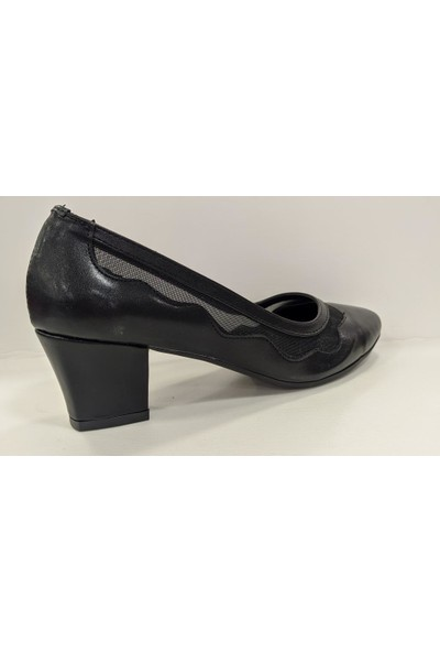 Beety 8637 Kalın Topuk Klasik Abiye Ayakkabı