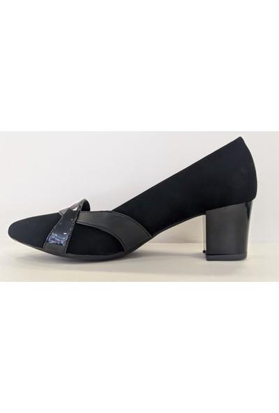 Beety 18.786 Kalın Topuk Sivri Burun Klasik Abiye Ayakkabı