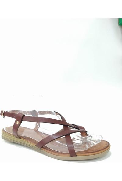 Bablisok Mona-4 Ince Taban Bodrum Parmak Arası Deri Sandalet