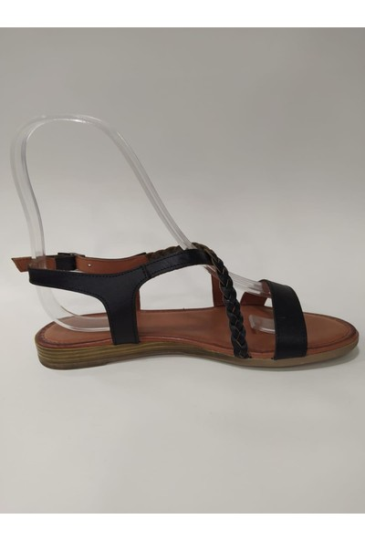 Bablisok Mona-3 Ince Taban Bodrum Deri Sandalet