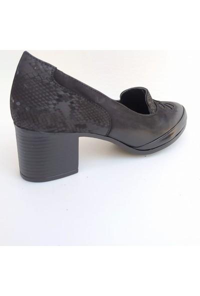 Venüs 1911922K Topuklu Deri Kadın Ayakkabı