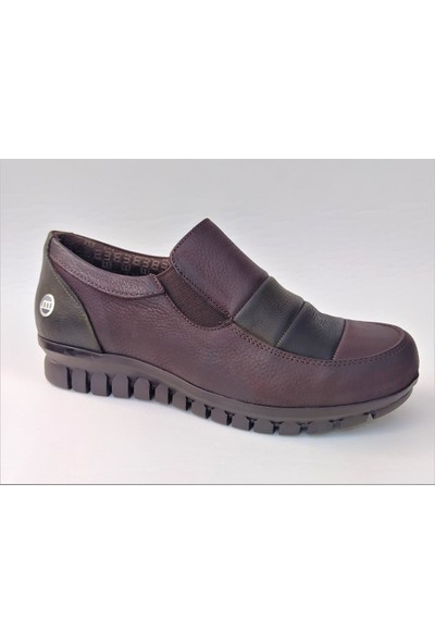 Mammamia250 Hakiki Deri Günlük Kadın Ayakkabı