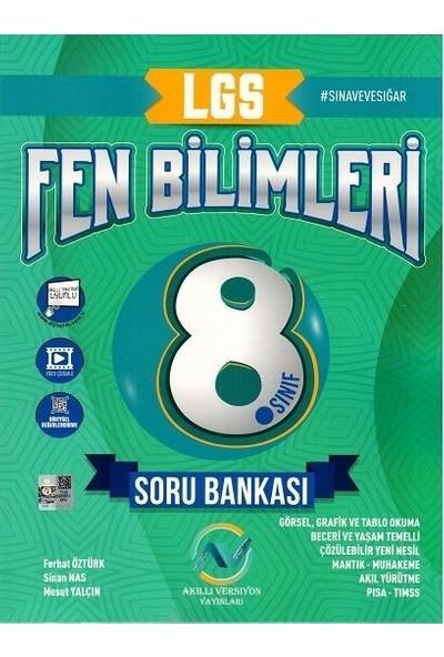 Av Akıllı Versiyon Yayınları 8. Sınıf LGS Fen Bilimleri Soru Bankası - Ferhat Öztürk