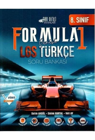 Son Viraj Yayınları 8. Sınıf Lgs Türkçe Formula 1 Soru Bankası - Selim Akgül