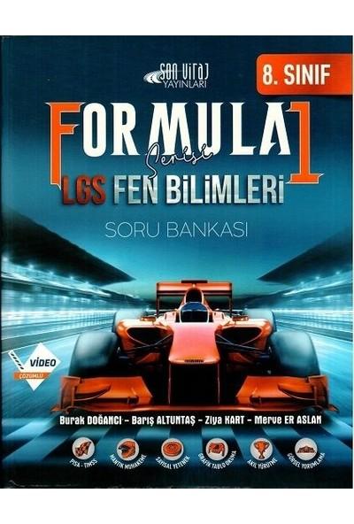 Son Viraj Yayınları 8. Sınıf Lgs Fen Bilimleri Formula 1 Soru Bankası - Barış Altuntaş