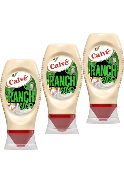 Calve Ranch Sos 245 gr x 3'lü