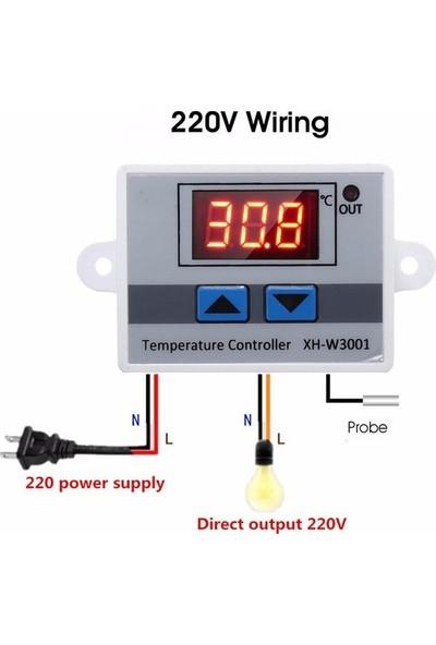 Techno Dijital Termostat 220V Akvaryum Kuluçka Termostat