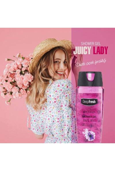 Deep Fresh Pratik Kapaklı Duş Jeli Juicy Lady 500 ml