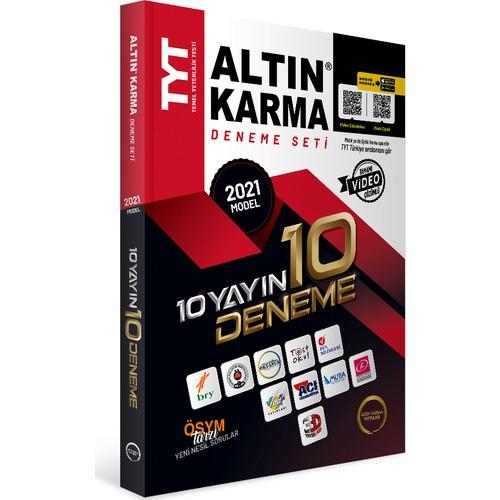 Altın Karma Yayınları TYT 10 Farklı Yayın 10 Deneme Seti