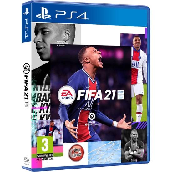 Fifa 2021 Türkçe Menü PS4 Oyun
