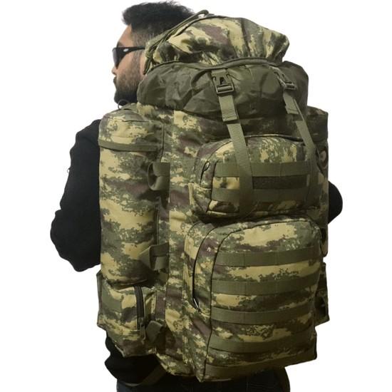 Baggor Yürüyüş - Seyahat - Dağcı - Trekking - Askeri Operasyon Sırt Çantası
