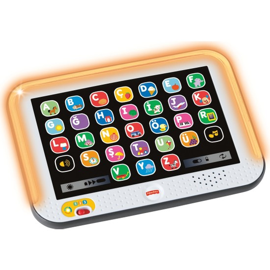 Fisher-Price Eğlen & Öğren Yaşa Göre Gelişim Eğitici Tablet (Türkçe), Akıllı Ipad, 28 Farklı Uygulama CLK64
