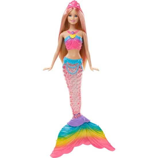 Barbie Gökkuşağı Işıklı Denizkızı, 3-7 Yaş Arası İçin DHC40