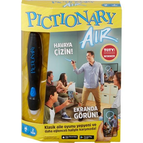 Pictionary Air Aile Çizim Oyunu, Akıllı Cihazlara Bağlanır, 8 Yaş ve Üzeri İçin GXD36