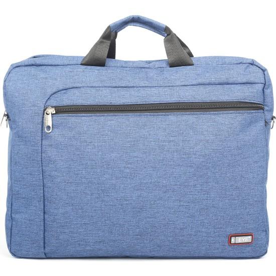"""Eye 572 Laptop ve Evrak Çantası 17.4"""" Mavi"""