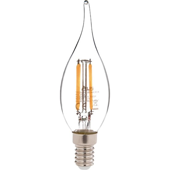 Alpi 4w E14 Kıvrık 3000K Gün Işığı LED Ampul E14-KG