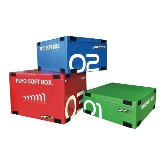 Proforce Crossfıt Box3 Adet 900*750*300 mm YESIL/900*750*450 mm Mavı /900*750*600 mm Kırmızı