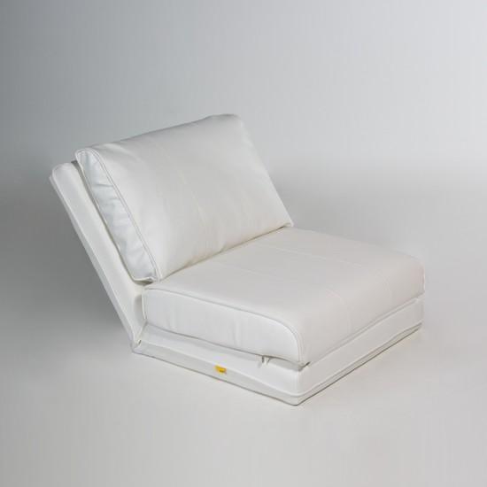 Genova Home Fredda Mekanizmalı Yatak Olabilen Koltuk Beyaz