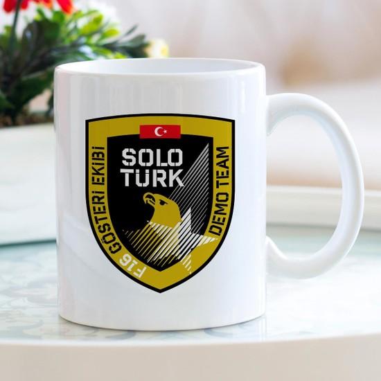 Hediyehanem Solo Türk Porselen Kupa Bardak