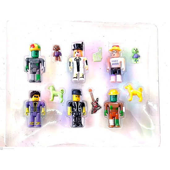 Beyza Toys Roblox Oyuncak 6'lı Figür Set