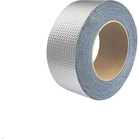 Kyrotech Alüminyum Izolasyon ve Tamir Bandı Su Geçirmez Çamur Bant 2 m