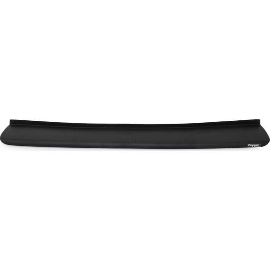 Peugeot Rifter Arka Tampon Eşiği Koruma Mat Siyah (ABS) 2019 ve Sonrası