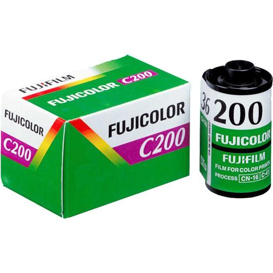 Fujifilm Fujicolor 36'lık Film C200