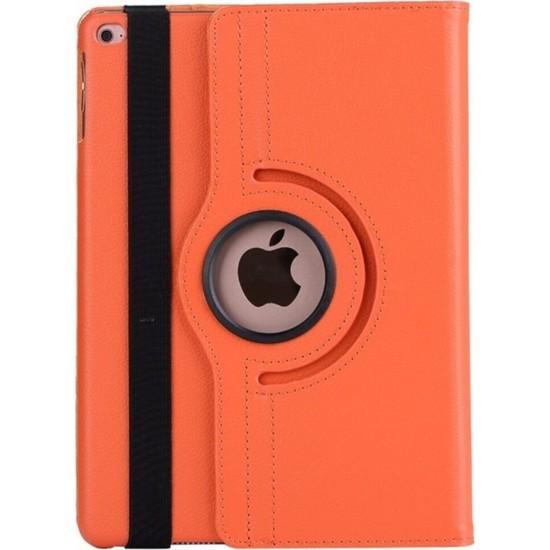 "MobaxAksesuar Apple iPad 8.Nesil 10.2"" Kılıf 360 Dönebilen Standlı Case A2270 A2428 A2429 A2430 Turuncu"