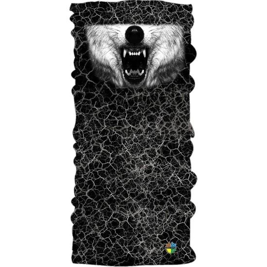Loco Active Çok Amaçlı Bandana Maske-Kurt