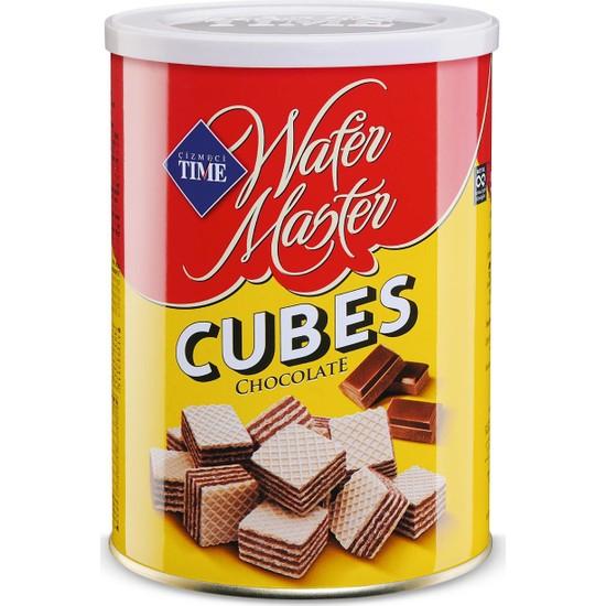 Çizmeci Time Wafer Master Cubes Çikolatalı 220 gr 12 'li Paket