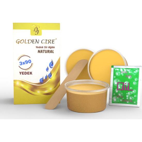 Golden Cire Yedek Sir Ağda 3X90 gr