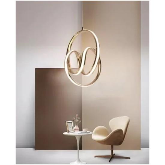 Burenze Modern Sarkıt Power LED Avize Concept Ürün Beyaz Işık
