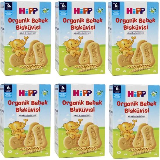 Hipp Organik Bebek Bisküvisi 150 gr 6'lı Paket