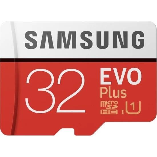 Samsung EVO Plus 32GB 95 MB/s microSDHC Kart (SD Adaptör) MB-MC32GA/APC