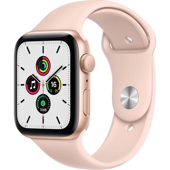 Apple Watch SE 40mm GPS Gold Alüminyum Kasa ve Kum Pembesi Spor Kordon MYDN2TU/A