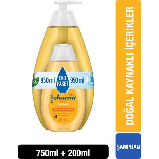 Johnsons Baby Şampuan 750 + 200 ml