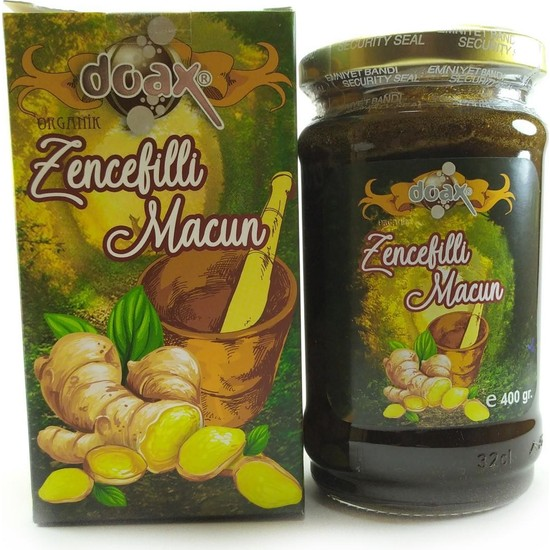 Doax Zencefilli Macun 400 gr