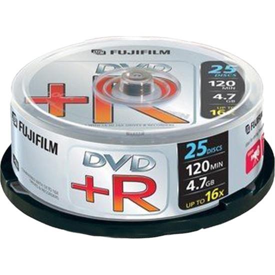 Fujifilm DVD +R 4,7 GB 16X 25 Adet Cake Box