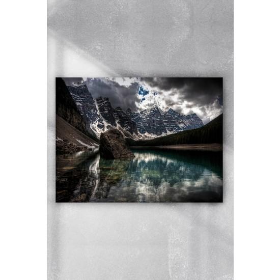 Postermanya Göl Manzara Poster 40 x 60 cm