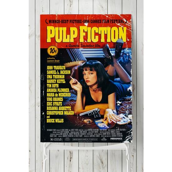 Postermanya Pulp Fiction-Ucuz Roman Film Afişi 40 x 60 cm