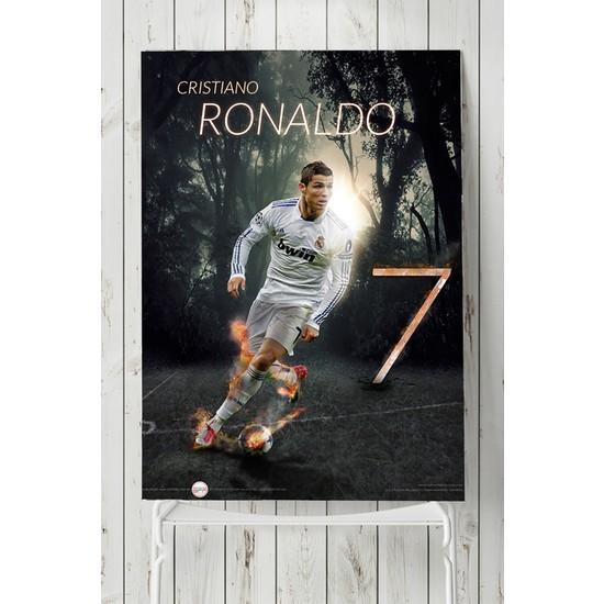 Postermanya Cristiano Ronaldo Futbol Posteri 50 x 70 cm