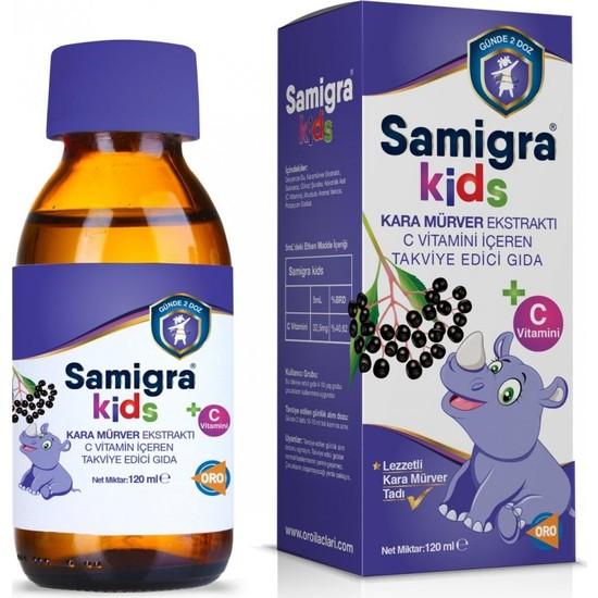 Samigra Kids Karamürver Ekstraktı 120 ml
