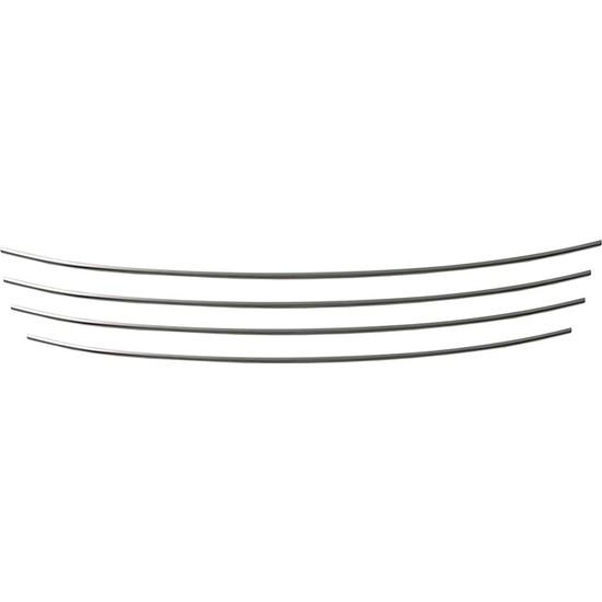 S-Dizayn Renault Fluence Krom Ön Tampon Çıtası 4 Prç. 2013 Üzeri Makyajlı