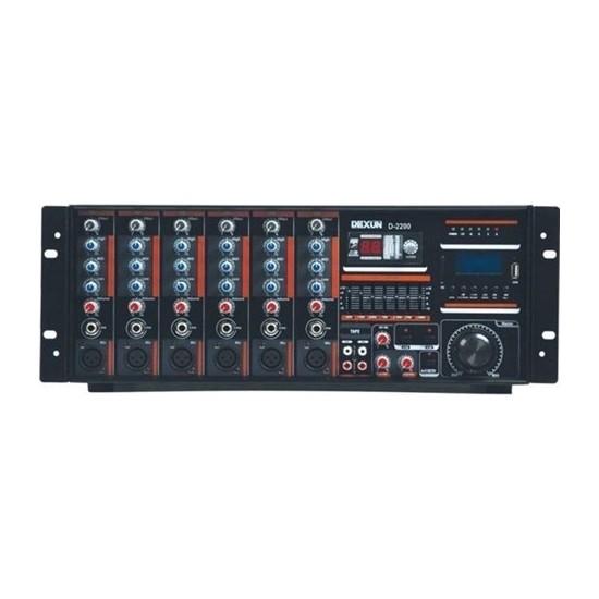 Dexun D-2200 250W 100V 4-16 Ohm Cami Amfisi