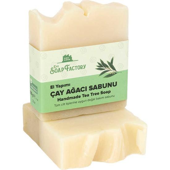 The Soap Factory El Yapımı Çay Ağacı Sabunu 100 gr