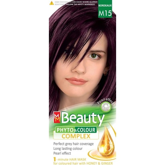 Mm Beauty Bitkisel Saç Boyası M15 Kızıl Kestane