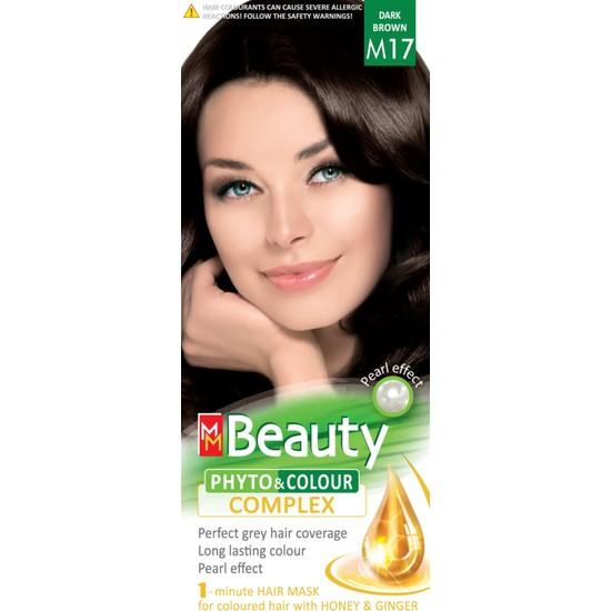 Mm Beauty Bitkisel Saç Boyası M17 Koyu Kahve